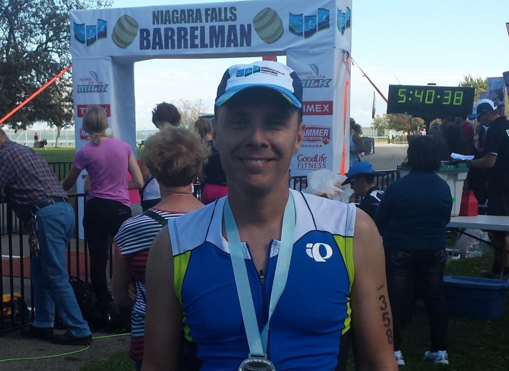 I Killed the Swim, I Killed the Bike, But the Run Killed Me.  Race Report by Jean Turgeon
