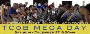 TCoB Mega Day:  Christmas Sweat & Social