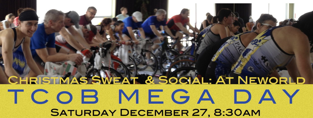 TCoB Mega Day:  Christmas Sweat & Social