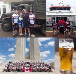 4 TCoB Members Cycling Adventure with Wounded Warriors Canada