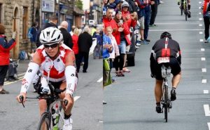 Chris and Kathleen's Excellent Adventure:  IronMan UK, by Christine Walsh