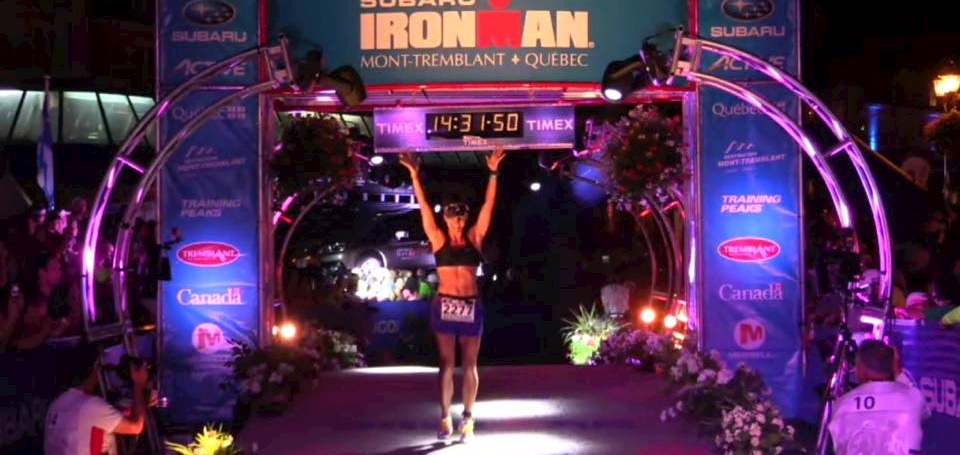 IM Mt. Tremblant race report by Stephanie Nogueira