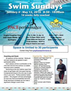 Sunday Swims start January 4th  8:30-10 a.m.