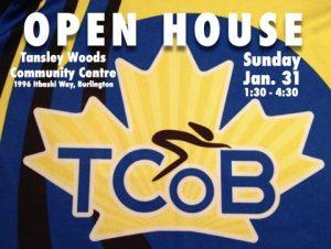 TCoB Open House Sunday January 31st 1:30-4:30 p.m. @ Tansley Woods