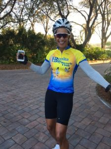 PRESIDENTS DAY CENTURY RIDE –BONITA BIKE CLUB  Florida February 20, 2017 By Lynn Keane