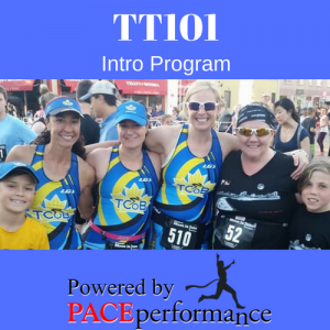 TT101 Triathlon Training Program, 2020